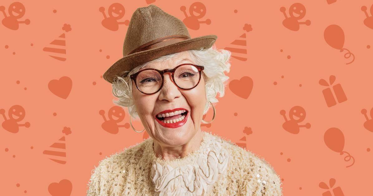 70 års present mormor