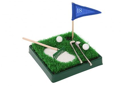 Presenter till golfaren