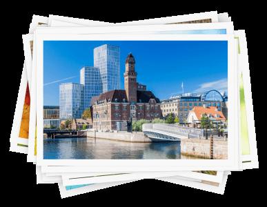 Presenter och upplevelser i Malmö