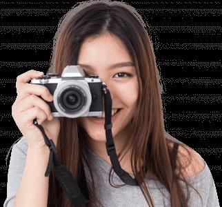 Porträtt fotointresserad