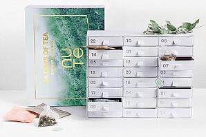 Adventskalender med tepåsar