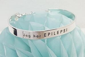 Armband Jag har epilepsi