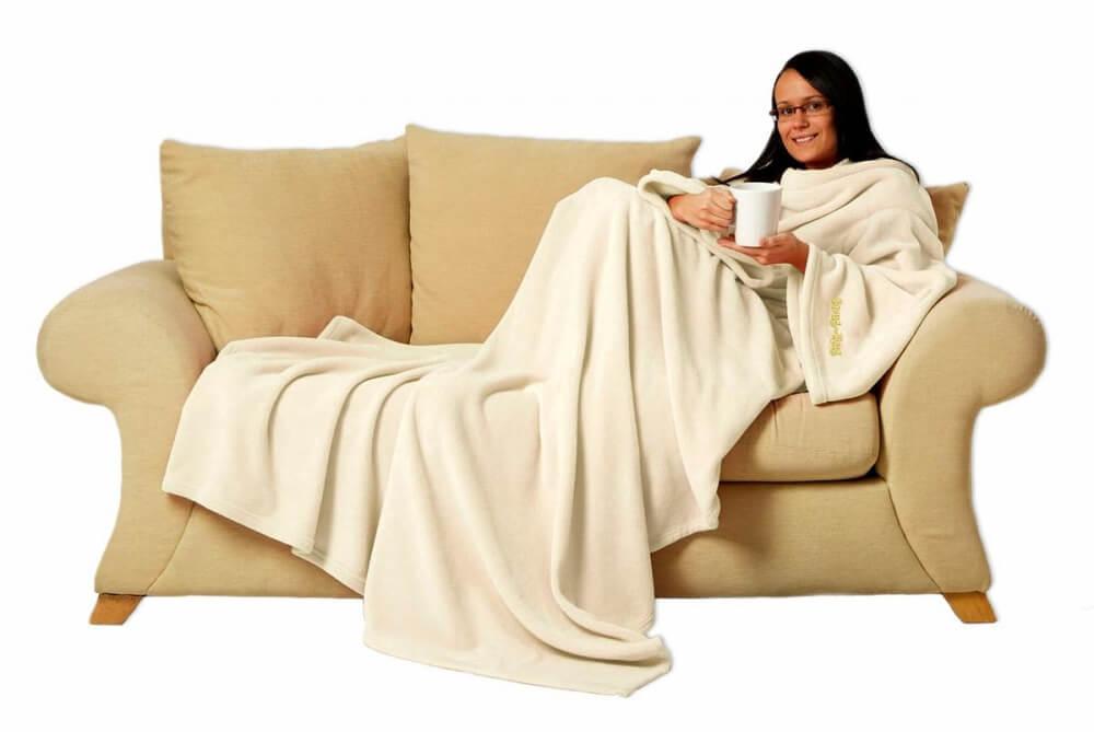 Filt för folk som myser i soffan