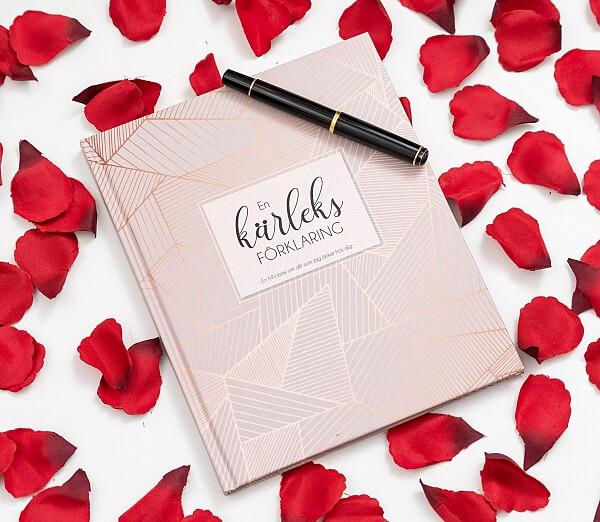 Fyll-i-bok med kärleksförklaring