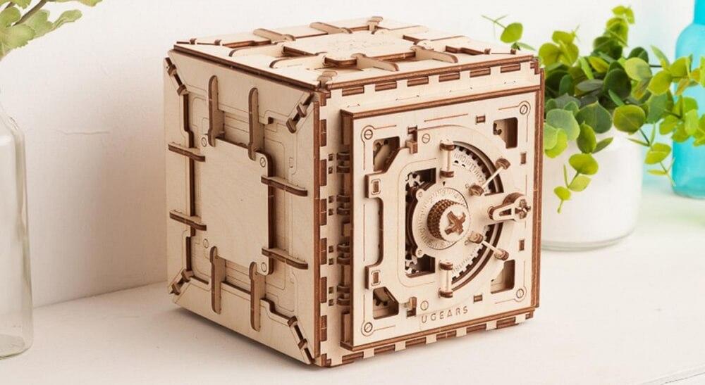Hemlighetsbevarande 3D-pussel
