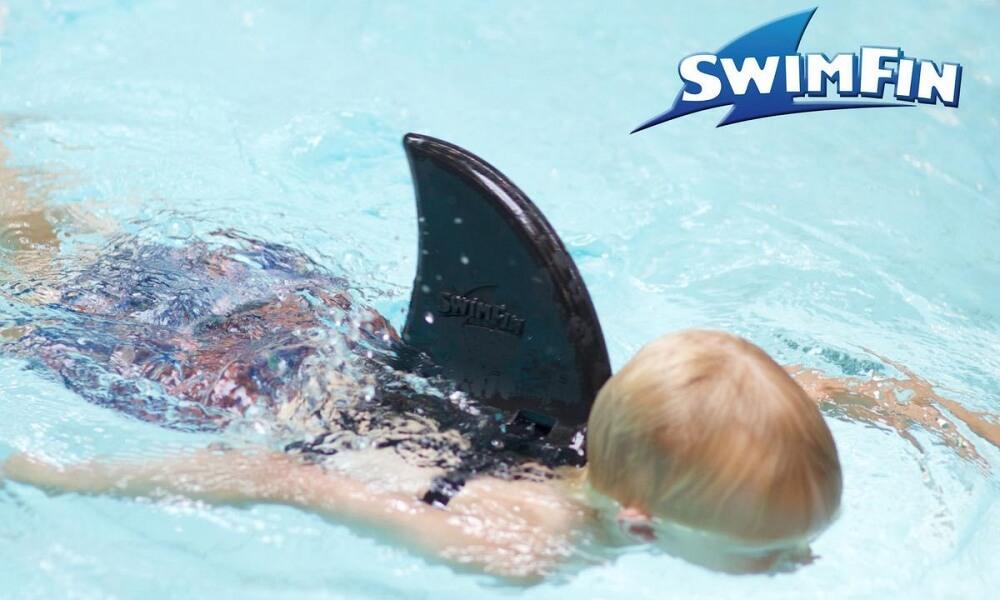 Hjälpande fena för simmande barn