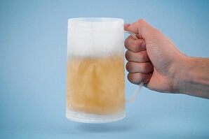 Kylmugg för öl