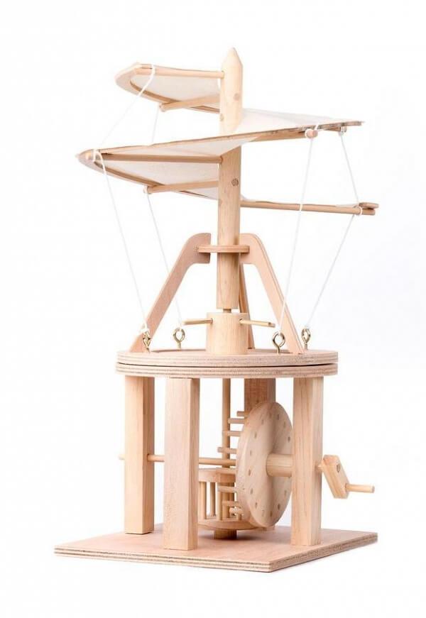 Leonardo da Vinci - Trämodeller