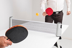 Portabelt pingisset - spela pingis när som helst