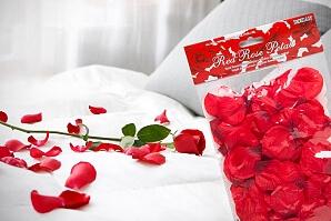 Romantisk rosenbädd