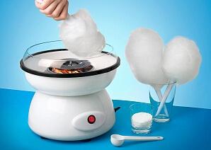 Sockervaddsmaskin för söta strutar