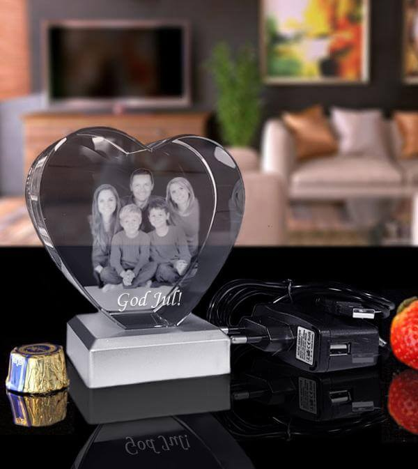 Kristall glas foto