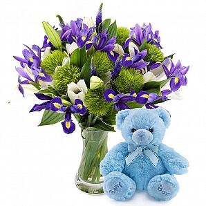 Blommor till bebis