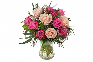 Bröllop blommor present