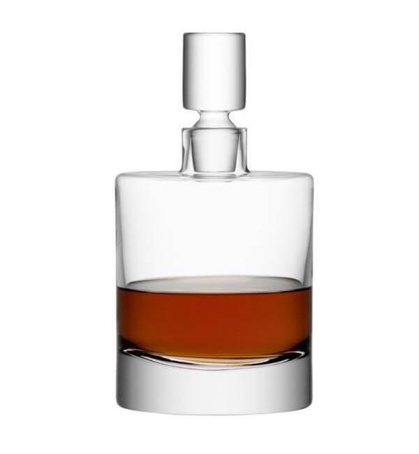 Handgjord whiskeykaraff