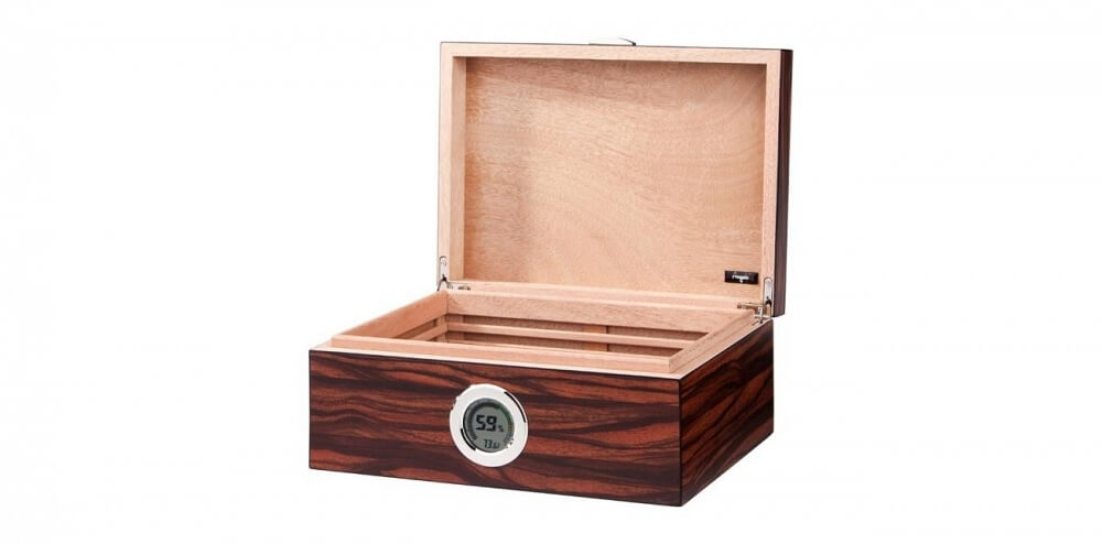 Humidor med digital hygrometer