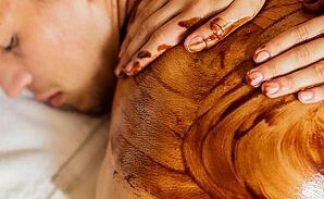 Chokladmassage present