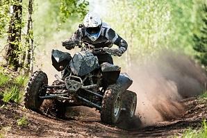 Kör fyrhjuling