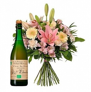 Blommor för att säga tack