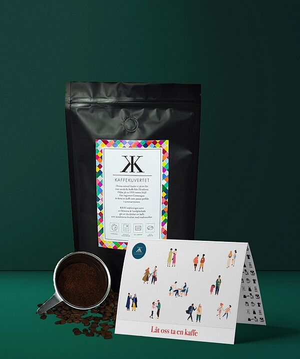 Kaffekuvertet presentkort