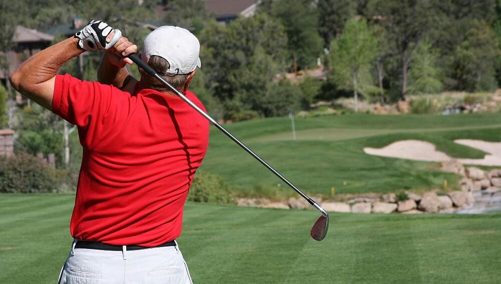 Golflektion med PGA-tränare
