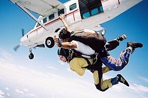 Hoppa fallskärm