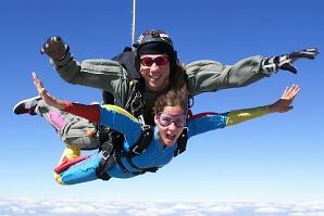 Tandemhoppning med fallskärm