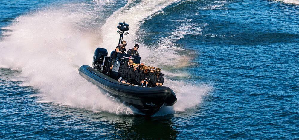 Utflykt med RIB-båt