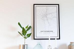 Designa din egen karta - Göteborg