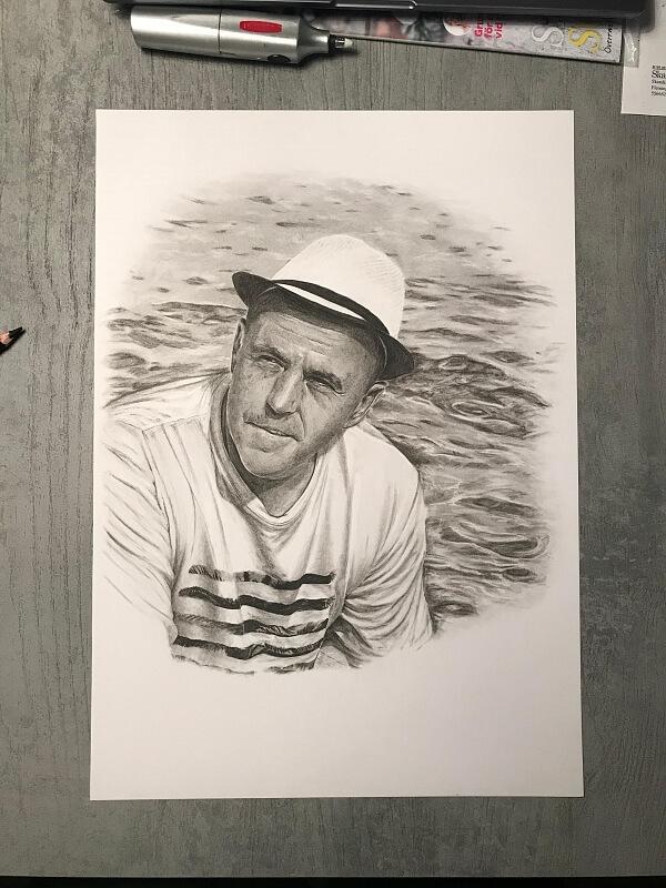 Porträtt av Martin Pålsson
