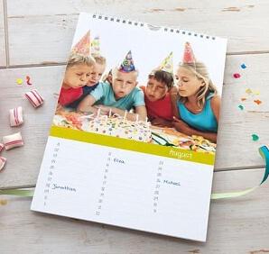 Almanacka för födelsedagar