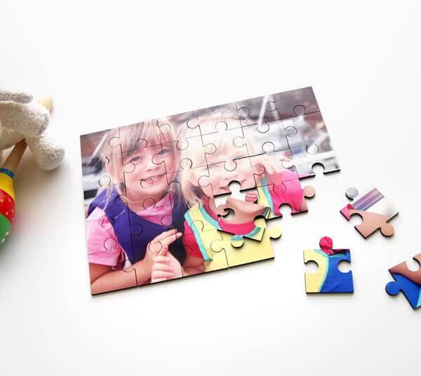 Barnpussel med egen bild