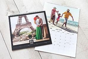 Väggkalender familj