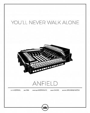 Anfield poster