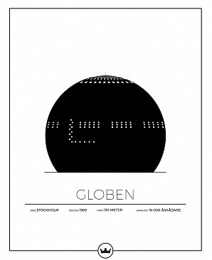 Globen poster