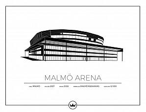 Malmö Arena poster