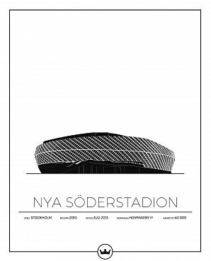 Nya Söderstadion poster