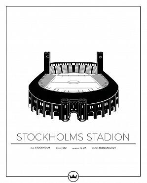 Stockholms Stadion poster