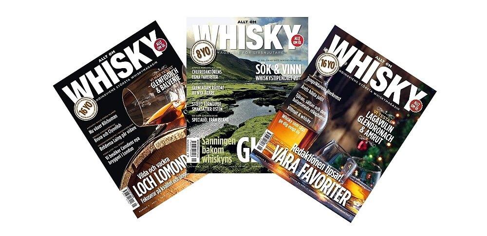Allt om Whisky tidningar