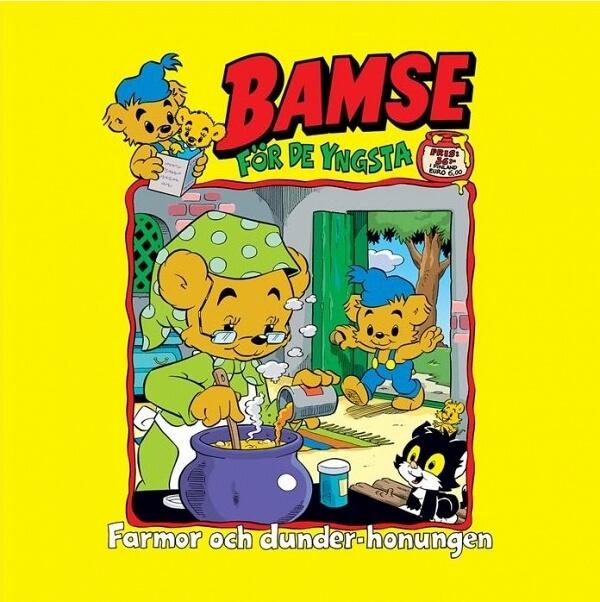 Bamse - Farmor och dunderhonungen