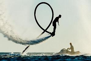 Prova Flyboard
