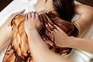 Massage chokladolja