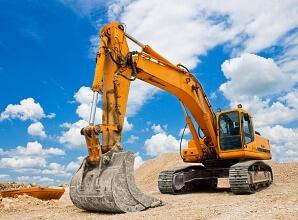 Provkör grävmaskiner och traktorer