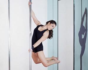 Prova på poledance