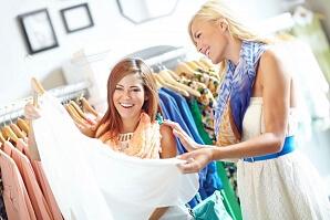 Shoppa med ett proffs