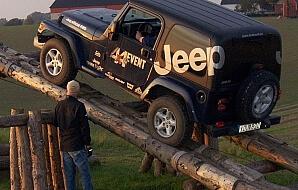 Terrängkörning med Jeep