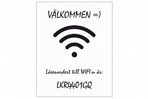 Canvastavla för Wi-Fi