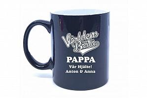 Kaffemugg till världens bästa pappa