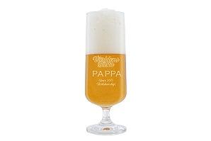 Ölglas till världens bästa pappa
