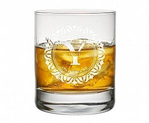 Whiskyglas cirkel gravyr